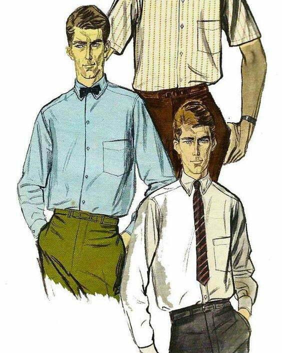 1960s shirts
