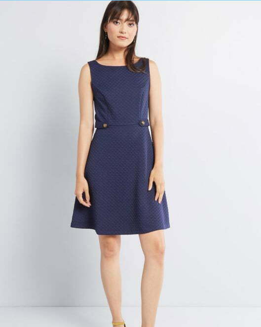 Sixties Signature A-Line Dress