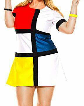 Adult Curvy 60s Mod Muse Costume