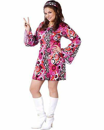 Fun World Women's Feelin' Groovy Costume