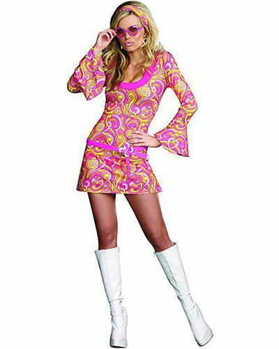 Dreamgirl Women's Go Go Gorgeous Costume