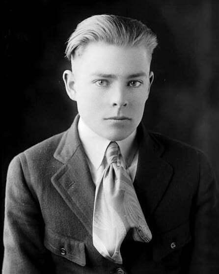 1910s men's ties