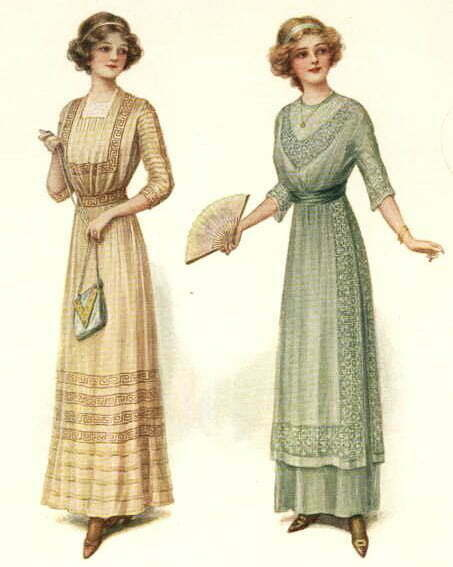 1910s sewing pattern