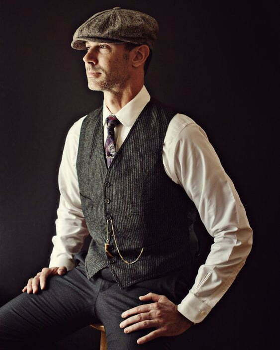 1920s men's vests