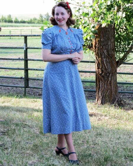 1930s plus size dresses