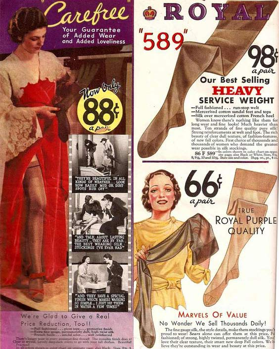 1930s stockings