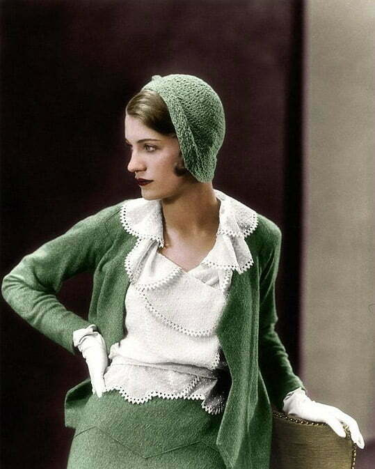 1930s women's sweater