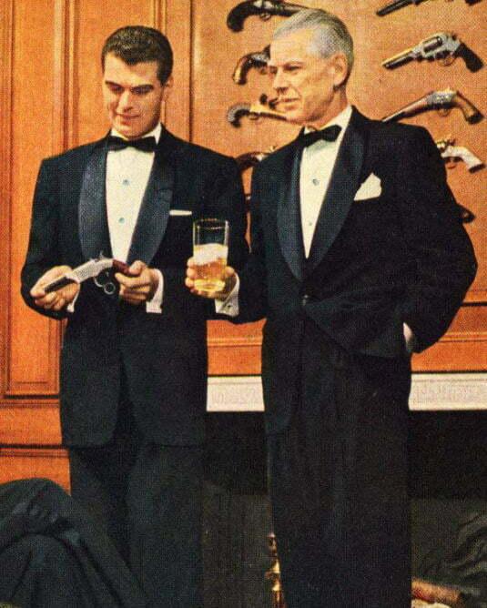 1940s Tuxedo