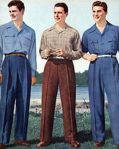 1940s men's shirts