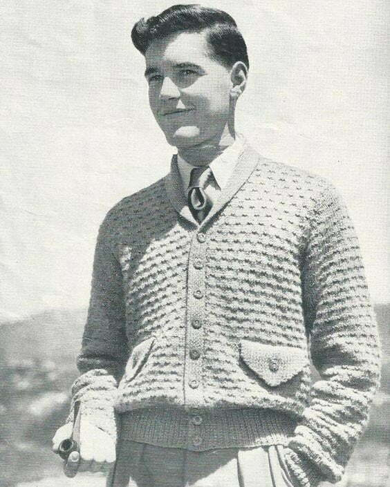 1940s men's sweaters