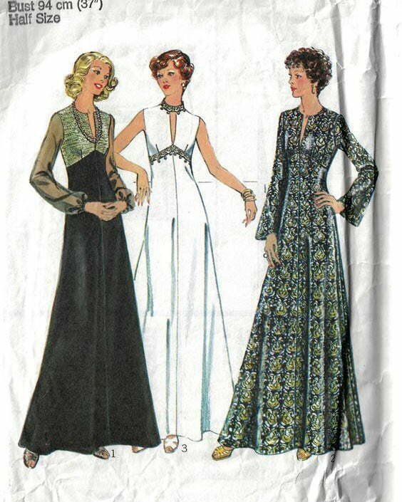 1970s sewing patterns