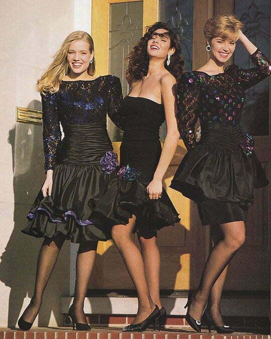 1980s dresses