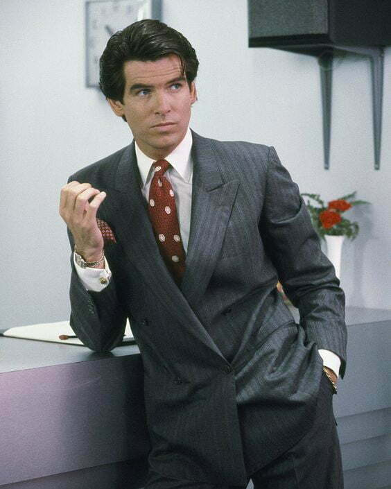 1980s men's ties