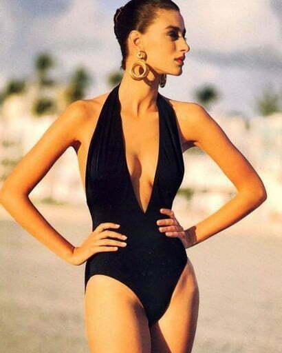 1980s women's swimsuit