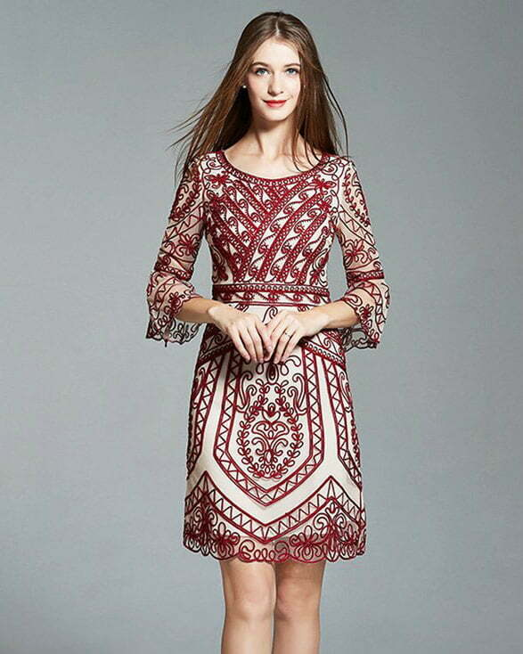 1920s lace dresses