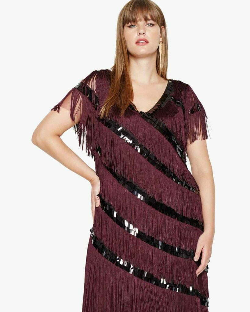 Lottie Fringe Dress