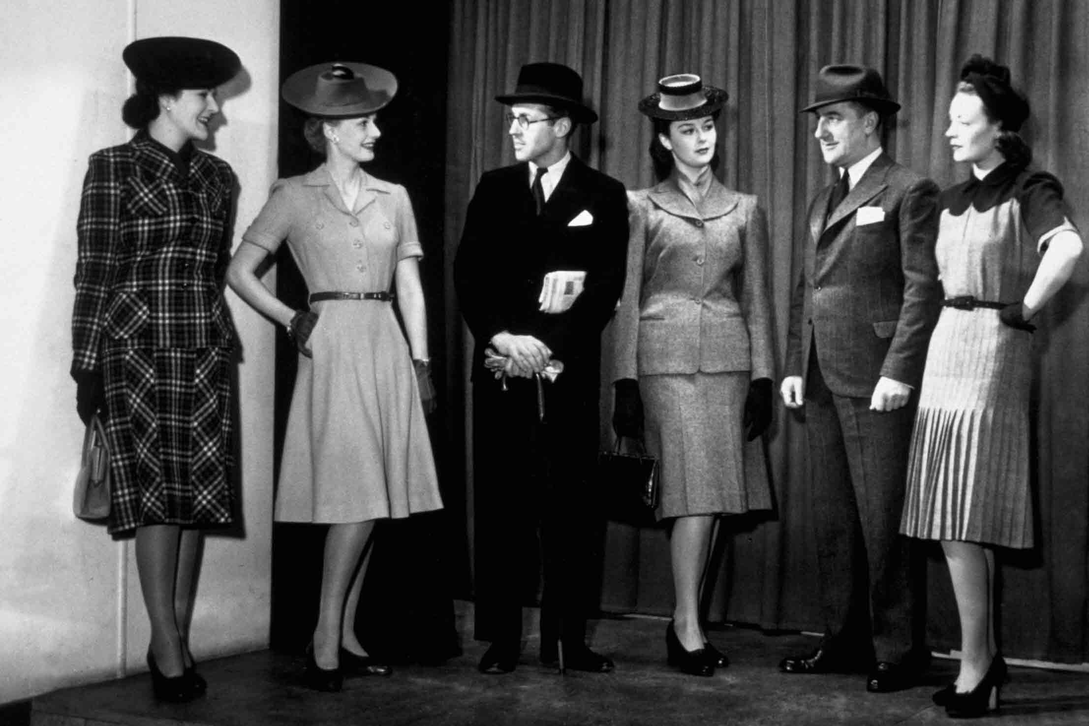 1940s victory suits