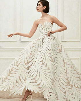 2010s wedding dress