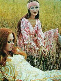 Hippie 60s style