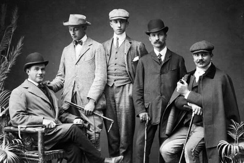 1900s men's fashion