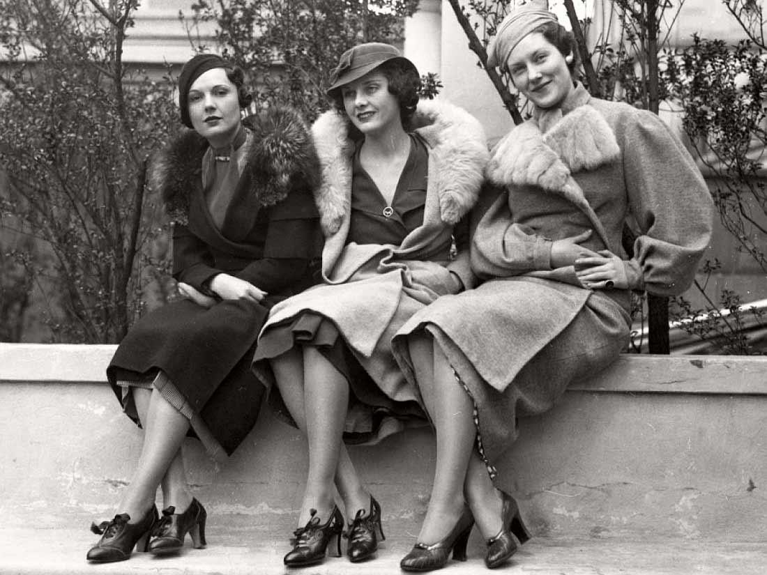 1930s street fashion