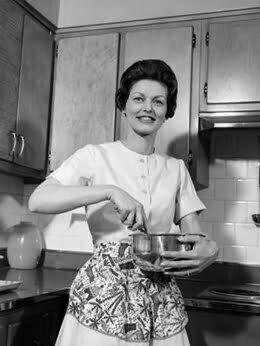 1960s housewife dress