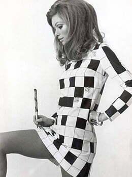 60s mod style