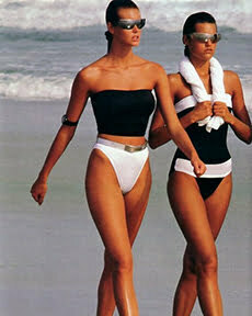 1980s swimsuits
