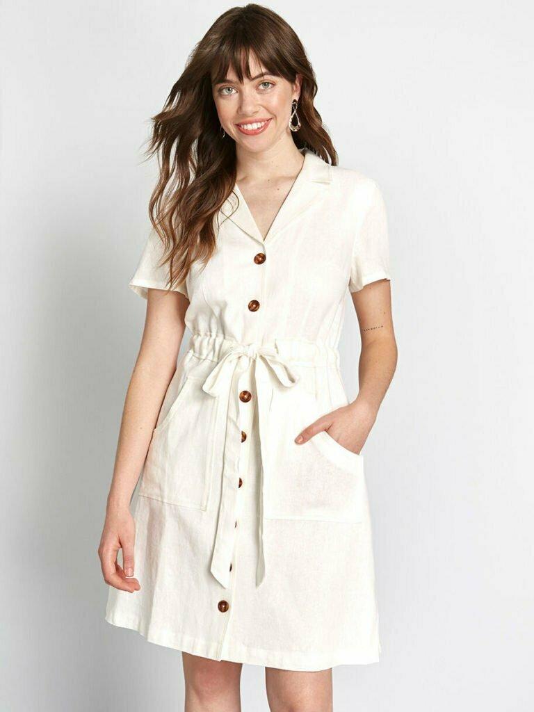 Enthralled Again Shirt Dress