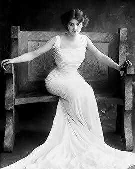 1900s women's fashion