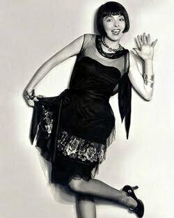 1920s black dress