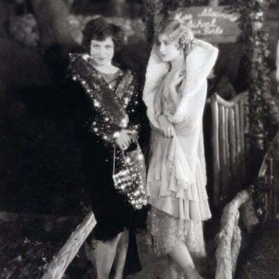 1920s Ball Gown: Boyish Flapper Look