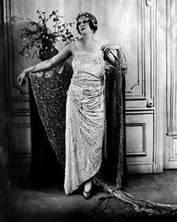 1920s white dress