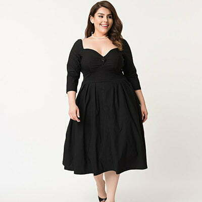 1950s Plus-size Glam: Retro Formal Dresses