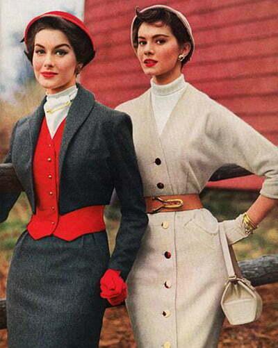 1950s women's coats