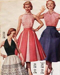 1950s Plus Size Formal Dresses
