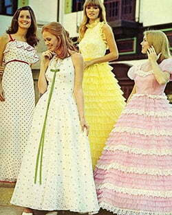 1970s Ball Gown Dresses