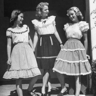 1940s Skirts-4 Styles to Choose