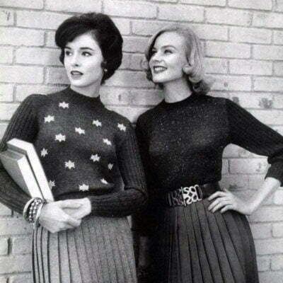 1950s Sweater: Pin-up Girls' Choice