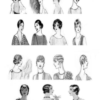 Women Hairstyles Changing in the 1920s-Back to 100 Years Ago