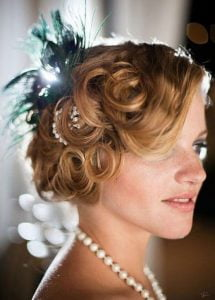 1920s-short-curly-updo