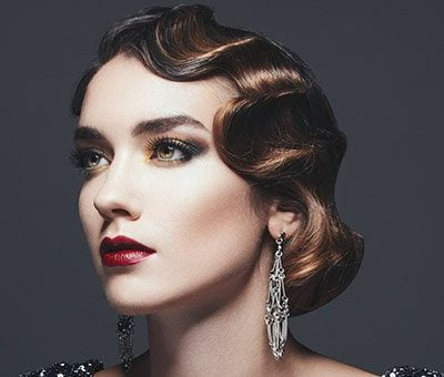 Vintage Short Hairs: All About Glamor Flapper Styles