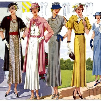 1930s Fashion & Style Look for Dresses-Fabulous Feminine Style