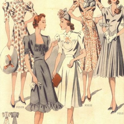 30s Vintage Summer Dresses Bring Me Sunshine