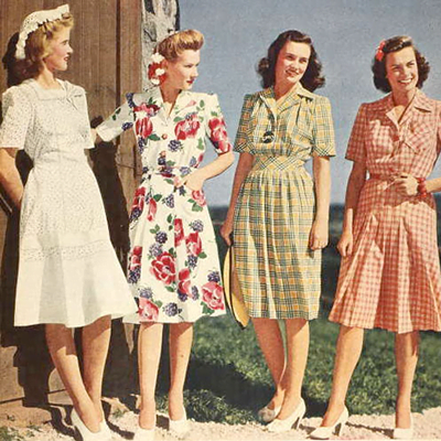 1940s Dress for Ladies-What to wear in Summer?