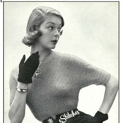 50s New Look: Hollywood Sweater Girl Met Bullet Bra