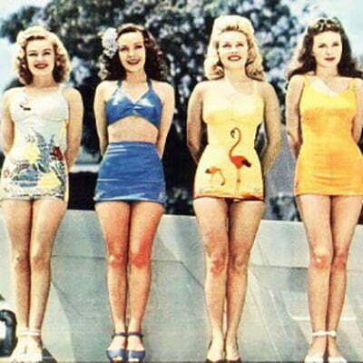 1950s Swimwear-Darling Collection Come Back