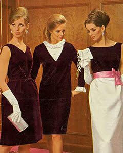 Three 1960 women in a party