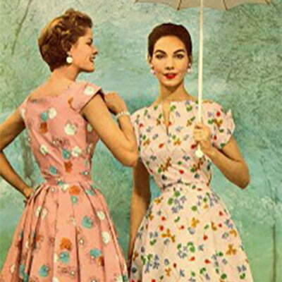1950s Summer Dresses-Mid-Century Dress Guide