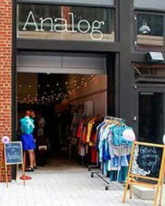 a vintage shop Analog